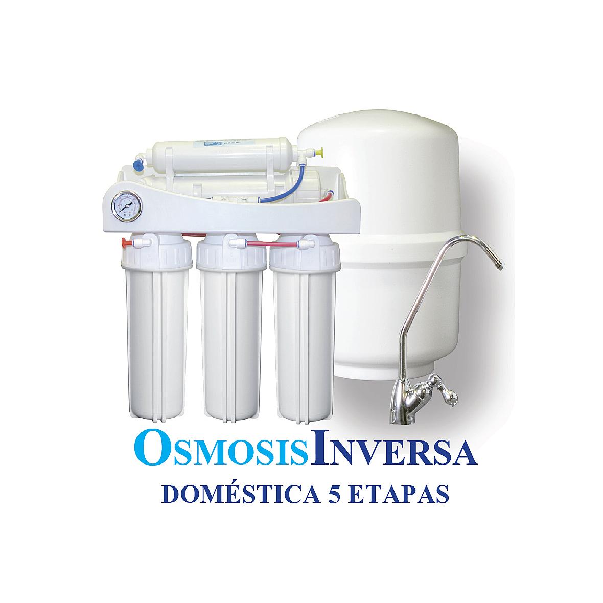 Osmosis inversa dom stica 5 etapas top uno agua low cost for Osmosis inversa domestica